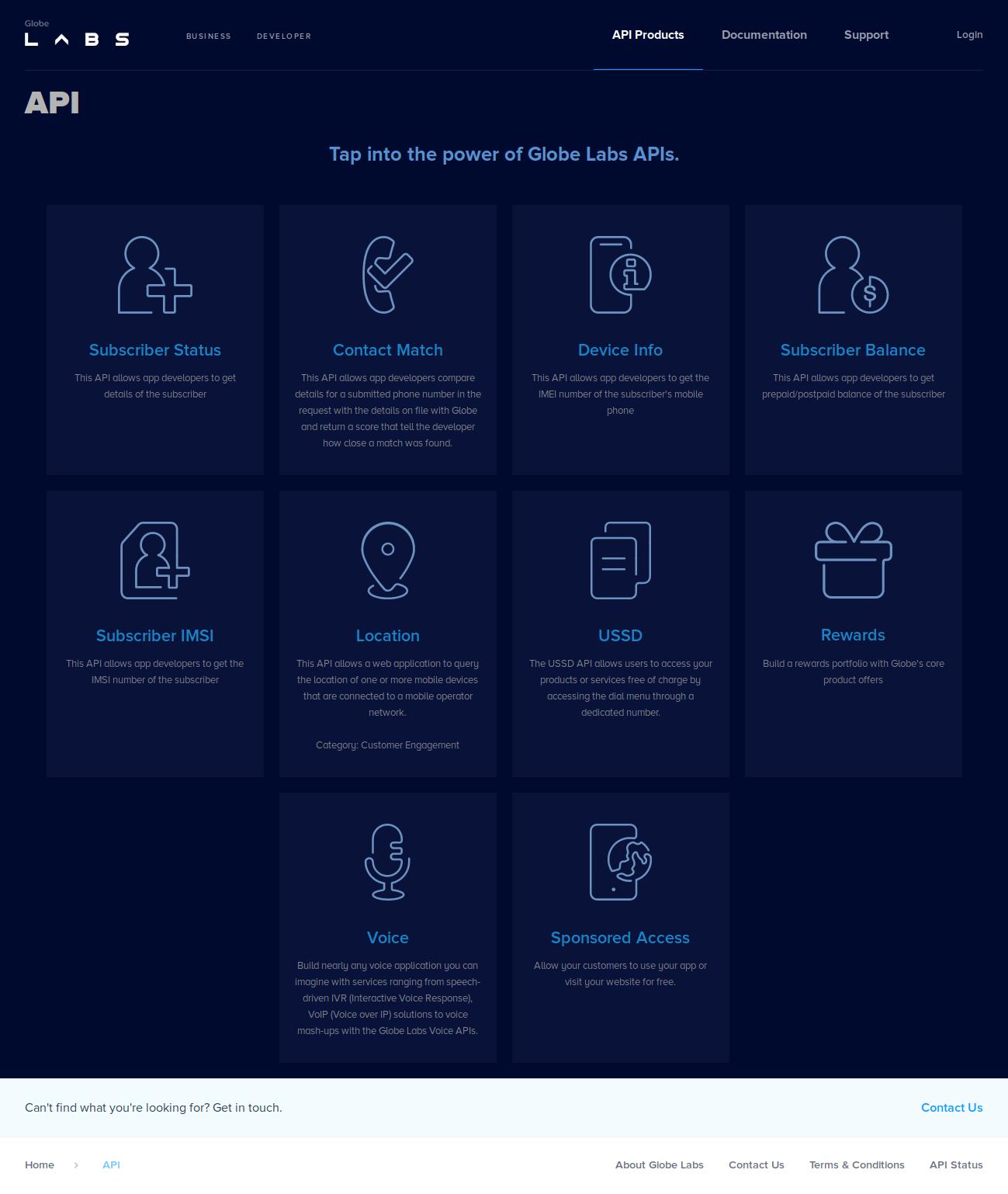 GlobeLabs APIs