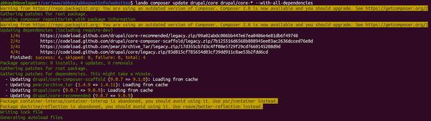 code written in maroon background