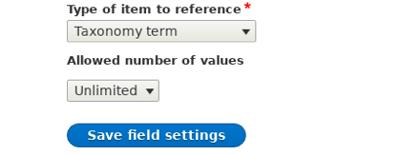 Dropdown menu option in a box