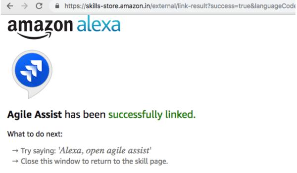 alexa account linking