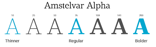 variable fonts 2 - srijan.net