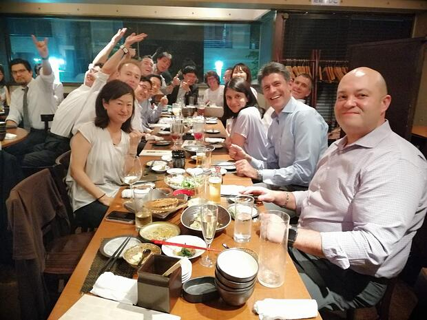 Office get-together-srijan-japan