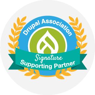 Drupal Association signature supporting partner 2021@150x