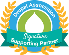 Drupal association signature supporting partner
