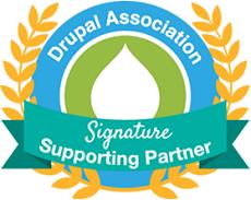 Drupal association signature supporting partner