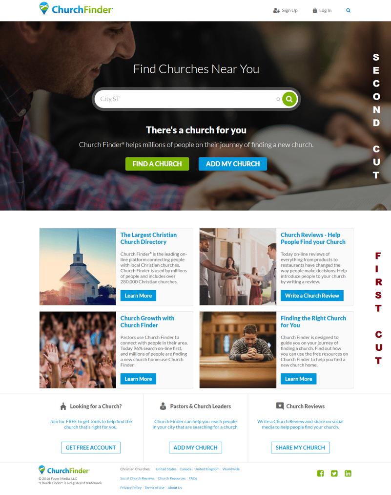revamped homepage