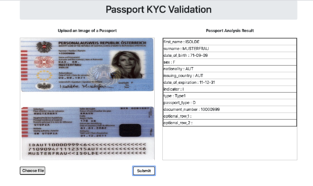 Passport of someone to verify details