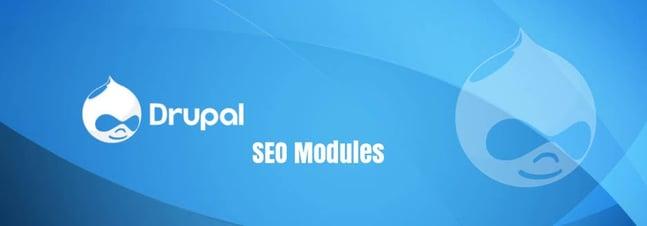 Drupal and SEO modules written inside box