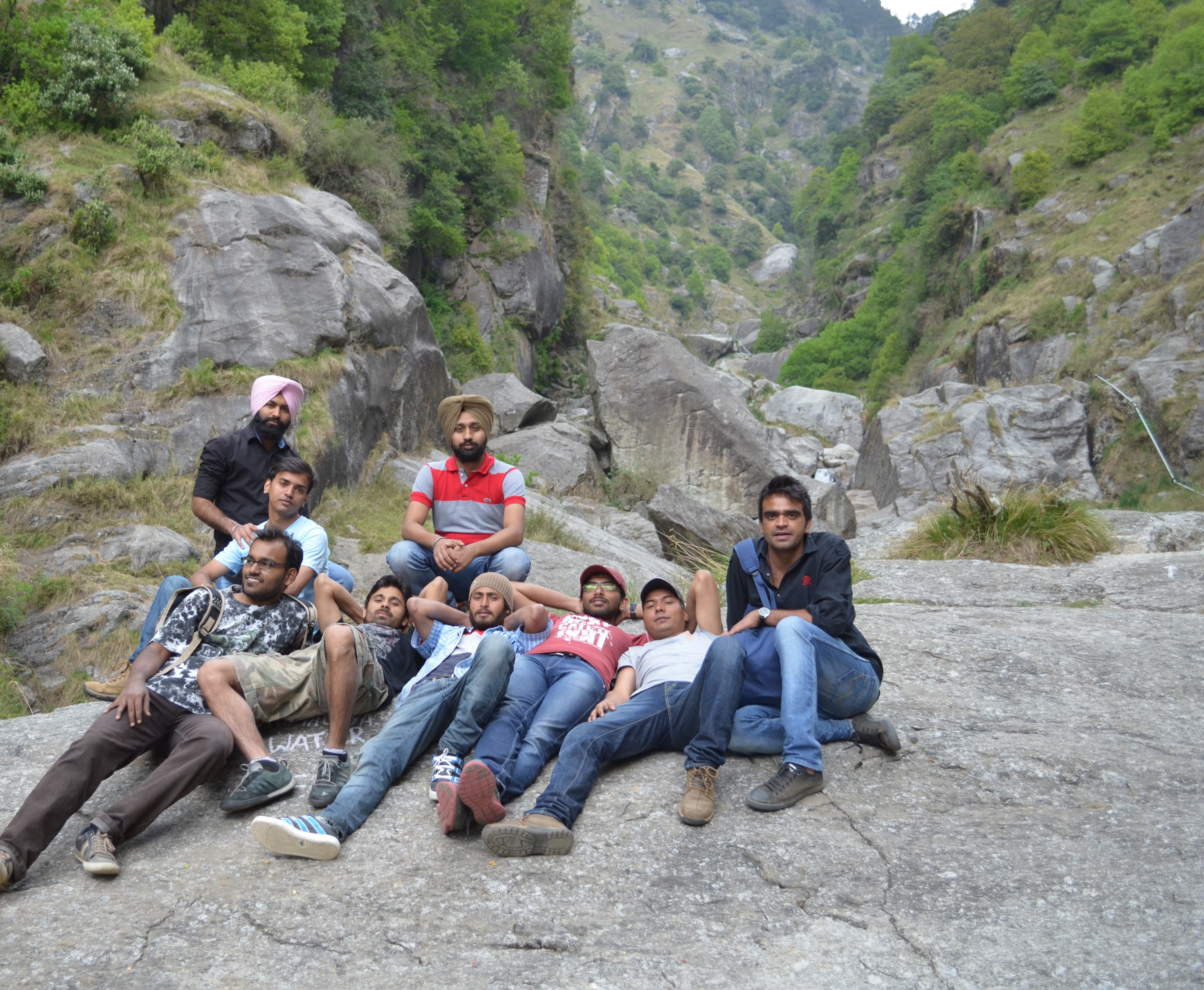 Dharamkot Waterfall - Team Excursion