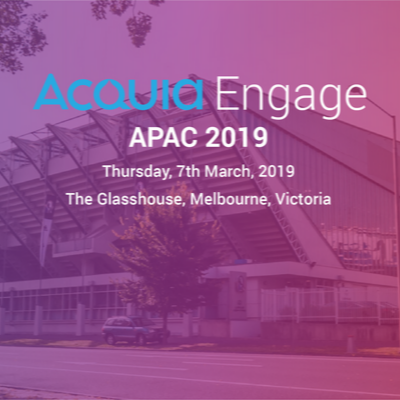 Acquia Engage APAC, 2019_ Unravelling Digital Customer Experiences with Srijan